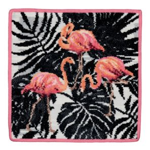 Feiler Flamingo Washcloth